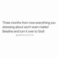 """""""Get connected...don't get caught up in a mistake or one shortcoming...start becoming a believer that your life can be transformed...just chill & trust"""" 🙌💯 @QWorldstar #PositiveVibes https://t.co/AG4PDnQlO9: Three months from now everything you  stressing about won't even matter!  Breathe and turn it over to God!  a QWORLDSTAR """"Get connected...don't get caught up in a mistake or one shortcoming...start becoming a believer that your life can be transformed...just chill & trust"""" 🙌💯 @QWorldstar #PositiveVibes https://t.co/AG4PDnQlO9"""