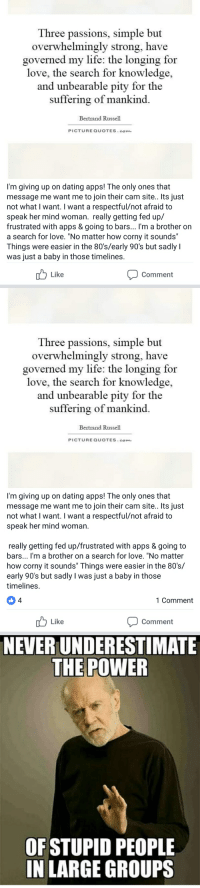 Scared of dating apps
