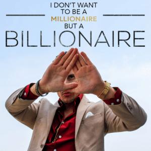 Three reasons I want to be a billionaire:    1) Because being a millionaire is too easy.  2) To give back and help so many people. 3) Buy a super yacht https://t.co/Yow81DsRTI: Three reasons I want to be a billionaire:    1) Because being a millionaire is too easy.  2) To give back and help so many people. 3) Buy a super yacht https://t.co/Yow81DsRTI