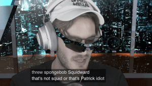 Mary Ham is so bad that she doesn't even know about sponge bob: threw spongebob Squidward  that's not squid or that's Patrick idiot Mary Ham is so bad that she doesn't even know about sponge bob