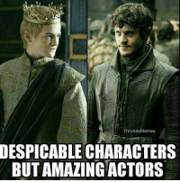 Yess: Thrones Memes  DESPICABLE CHARACTERS  BUTAMALING ACTORS Yess