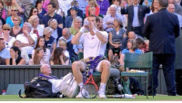 Memes, Old Man, and Good: Throwback to Andy Murray keeping an old man in his bag for good luck.