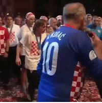 Throwback to when Luka Modric was told a boy with down syndrome wanted to give him a high five because he is his favourite player. Modric got him on stage with the whole Croatian team and had his arm around him throughout the ceremony. This is class. 🇭🇷👏  https://t.co/4HsCFRTW7A: Throwback to when Luka Modric was told a boy with down syndrome wanted to give him a high five because he is his favourite player. Modric got him on stage with the whole Croatian team and had his arm around him throughout the ceremony. This is class. 🇭🇷👏  https://t.co/4HsCFRTW7A