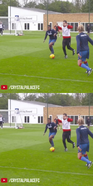 Throwback to when Yannick Bolsie & Wilfried Zaha showed no mercy against the Crystal Palace women's team in training. https://t.co/7G38bk854o: Throwback to when Yannick Bolsie & Wilfried Zaha showed no mercy against the Crystal Palace women's team in training. https://t.co/7G38bk854o