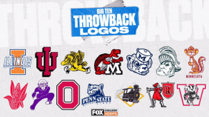 Throwing it back on a Thursday 🙌  Which @bigten team has the best throwback logo? #TBT https://t.co/AwuKn3woqr: Throwing it back on a Thursday 🙌  Which @bigten team has the best throwback logo? #TBT https://t.co/AwuKn3woqr