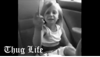 little girl is born to be THUG: Thug Life little girl is born to be THUG