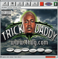 "19 years ago today, TrickDaddy released ""Www.Thug.Com"" featuring the tracks ""Nann"", ""Back In The Days"", & ""Change My Life"". Comment your favorite song off this classic album below! 👇🔥💯 @TrickDaddyDollars HipHop History WSHH: thugscape  ser  drugsmonedeath  location: Du.thuq.com  EXPLICIT CONTENT  wwwthuq.com  the  tre+6  society  lul 'lost tribe  roe  J-shin  (a[ you are nou, ""on-line,, 19 years ago today, TrickDaddy released ""Www.Thug.Com"" featuring the tracks ""Nann"", ""Back In The Days"", & ""Change My Life"". Comment your favorite song off this classic album below! 👇🔥💯 @TrickDaddyDollars HipHop History WSHH"