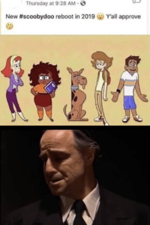 Join our Face🅱️ook group at dankmemesociety.com 😤😩: Thursday at 9:28 AM  New #scoobydoo reboot in 2019 GO Y'all approve Join our Face🅱️ook group at dankmemesociety.com 😤😩