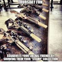 . www.tacticalgunners.com ✅ Double tap the pic ✅ Tag your friends ✅ Check link in my bio for badass stuff - american veteran veterans america gun guns 2a secondamendment 2ndamendment gunrights firearm firearms rifle ar15: !  THURSDAY FUN  AGGRAVATE YOUR LIBERAL FRIENDSBY  SHOWING THEM YOUR STAMP COLLECTION . www.tacticalgunners.com ✅ Double tap the pic ✅ Tag your friends ✅ Check link in my bio for badass stuff - american veteran veterans america gun guns 2a secondamendment 2ndamendment gunrights firearm firearms rifle ar15