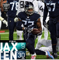 Lexus, Memes, and Video: THURSDAY  NIGHT  FDOTBALL  FOX  prime video  FINAL  30% FINAL: @KingHenry_2's 4 TDs lead the @Titans to a win! #JAXvsTEN #TitanUp  (by @Lexus) https://t.co/HN5LQe5sLX