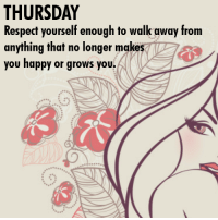Cheating, Memes, and Respect: THURSDAY  Respect yourself enough to walk away from  anything that no longer makes  you happy or grows you MIND GAMES MANY MEN PLAY ON WOMEN - Ladies: Please don't get caught up in the games men play. Just like I help you everyday through posts I send out all the time, I will help you through this ebook on how NOT to get played and taken advantage of by men. Some of the subjects I am about to show you are: (1) Things your father never told you but should have. (2) The number 1 mistake women make when meeting a man. (3) Why a man stops calling you. (4) Why you keep getting hurt over and over and over again.... (5) Why men cheat even though you are doing everything. (6) What's wrong with the man that opens the door for you? (7) Why he calls during the week but disappears on the weekend. (8) The first thing a man has in his mind when he approaches you. (9) What men really think about you when you're not around. (10) All the signs that tell you a man is cheating. Plus so much more. For a limited time, you can either get this 1 ebook, that has been written by me, Anthony, your page admin for only $2.00 or even get a better deal where you can get an enormous collection of 70 ebooks on many different subjects for only $10. To find out about all the other 70 ebooks or to purchase any of the ebooks, please go to: http://wordsofwisdomforwomen.com/b-200.htm