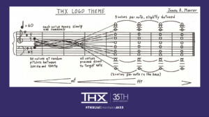 goofy-ruthie: popculturebrain:  THX Just Shared the Original Sheet Music for its 'Deep Note' for the First Time  Look at this lad. Image:  THX, Ltd.The Deep Note, the distinctive synthesized crescendo that is THX's audio trademark, is one of the most iconic sounds in all of film. For the effects firm's 35th anniversary, they've now shared the sheet music behind the sound.    thanks i hate it : THX LOG0 THEME  Janes A. Moorer  3 veices per , srghtly detoned  丑丑丑  60  cach volle moves slowl  30 votces et random  pitches between  all voTces  proceed dire  to taigeT noTe  ㄟㄧ一互  mf  THX 35TH  ANNIVERSARY  #THXLtd Entertain:At35 goofy-ruthie: popculturebrain:  THX Just Shared the Original Sheet Music for its 'Deep Note' for the First Time  Look at this lad. Image:  THX, Ltd.The Deep Note, the distinctive synthesized crescendo that is THX's audio trademark, is one of the most iconic sounds in all of film. For the effects firm's 35th anniversary, they've now shared the sheet music behind the sound.    thanks i hate it