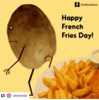 Repost from @onninsta ・・・ Spread the cheer! FrenchFriesDay omnomnom onninsta: TI  OmNomNom  Happy  French  Fries Day!  onninsta Repost from @onninsta ・・・ Spread the cheer! FrenchFriesDay omnomnom onninsta
