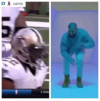 Who did it better, Mark Ingram or @champagnepapi? 😂😂 HotlineBling: ti saints  3 THIN Who did it better, Mark Ingram or @champagnepapi? 😂😂 HotlineBling