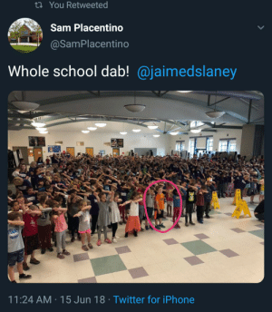 August Landmesser refusing to salute Hitler, June 1936, colourized: ti You Retweeted  Sam Placentino  @SamPlacentino  Whole school dab! @jaimedslaney  11:24 AM 15 Jun 18 Twitter for iPhone August Landmesser refusing to salute Hitler, June 1936, colourized