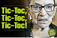 toc: Tic-Toc,  Tic-Toc,  Tic-Toc!  FACEB  STOP  HILLARY  IN 2016