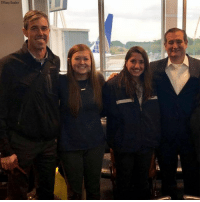 Former political opponents Ted Cruz and Beto O'Rourke ran into each other at George Bush Intercontinental Airport and took the time to pose for this bipartisan photo with fellow travelers.: Tiffany Easter Former political opponents Ted Cruz and Beto O'Rourke ran into each other at George Bush Intercontinental Airport and took the time to pose for this bipartisan photo with fellow travelers.