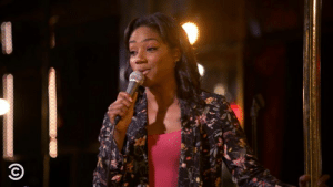 Dank, Tiffany, and Back: Tiffany Haddish can back her way out of any situation.