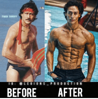 Clothes, Dad, and Facebook: TIGER SHROFF  I G  LEGION S  P R O D U C T I O N  BEFORE  AFTER 🔥😳😂JOKES! LEFT IS HIS DAD! Founder 👉: @king_khieu. Bollywood 🇮🇳 actor and martial artist: Tiger Shroff. Night and day. DISCLAIMER😂🙏: Left picture is his father. Thoughts? 🤔Opinions? What do you guys think? COMMENT BELOW! Athlete: @tigerjackieshroff. TAG SOMEONE who needs to lift! _________________ Looking for unique gym clothes? Use our 10% discount code: LEGIONS10🔑 on Ape Athletics 🦍 fitness apparel! The link is in our 👆 bio! _________________ Principal 🔥 account: @fitness_legions. Facebook ✅ page: Legions Production. @legions_production🏆🏆🏆