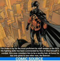 Tim Drake Is by Far the Most Proficient Bo Staff Wielder in