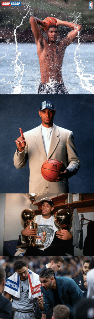 TIM DUNCAN  Age 14: Started playing basketball Age 19: ACC Player of the Year Age 21: 1st pick in the NBA Draft Age 21: 1st of 15 All-Star teams Age 23: 1st of 5 Championships Age 26: 1st of 2 MVP awards Age 43: Hall of Famer https://t.co/qGFqoFNJ8g: TIM DUNCAN  Age 14: Started playing basketball Age 19: ACC Player of the Year Age 21: 1st pick in the NBA Draft Age 21: 1st of 15 All-Star teams Age 23: 1st of 5 Championships Age 26: 1st of 2 MVP awards Age 43: Hall of Famer https://t.co/qGFqoFNJ8g