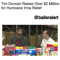 "Food, Friday, and Growing Up: Tim Duncan Raises Over $2 Million  for Hurricane Irma Relief  @balleralert  36  Kills 99.999% of Bacteria  Rame  utter 390  Colgate Tim Duncan Raises Over $2 Million for Hurricane Irma Relief-blogged by @thereal__bee ⠀⠀⠀⠀⠀⠀⠀⠀⠀ ⠀⠀ NBA legend TimDuncan has spent his time recently, working on relief efforts for victims of HurricaneIrma. ⠀⠀⠀⠀⠀⠀⠀⠀⠀ ⠀⠀ The Category 5 hurricane burst through the U.S. Virgin Islands causing complete destruction in several towns and neighborhoods. ⠀⠀⠀⠀⠀⠀⠀⠀⠀ ⠀⠀ Duncan, born and raised in St. Croix, wrote an article Friday, for the Players' Tribune titled ""Don't Forget About the Islands,"" detailing his own personal experiences with natural disasters after Hurricane Hugo hit his home when he was 13-years-old. ⠀⠀⠀⠀⠀⠀⠀⠀⠀ ⠀⠀ Duncan said it took more than a year before some type of normalcy was reestablished. ⠀⠀⠀⠀⠀⠀⠀⠀⠀ ⠀⠀ Through his own experiences, he felt compelled to give back to the victims of Irma. ⠀⠀⠀⠀⠀⠀⠀⠀⠀ ⠀⠀ ""It takes me back to when I was a kid, growing up and having to go through that,"" Duncan said on ESPN's ""Mike & Mike."" ⠀⠀⠀⠀⠀⠀⠀⠀⠀ ⠀⠀ Duncan has partnered with the San Antonio Food Bank to collect supplies and donations for victims of Irma. ⠀⠀⠀⠀⠀⠀⠀⠀⠀ ⠀⠀ He has also set up a fundraiser on youcaring.com that has already raised more than $2 million. Duncan will also match the donations up to $1 million. ⠀⠀⠀⠀⠀⠀⠀⠀⠀ ⠀⠀ In addition to setting up two H-E-B locations for people to receive material donations, he also plans to travel to the U.S. Virgin Islands to personally deliver donations. ⠀⠀⠀⠀⠀⠀⠀⠀⠀ ⠀⠀ ""I didn't know then as a 13-year-old kid, but there are people putting relief together, getting workers down there, getting food and supplies to help us get through that time,"" Duncan said. ""I'm just trying to be that guy now."""