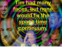 Time, Continuum, and Man: Tim had man  faces, but none  Would fix the  cet  continuum  spa  ime <p>ⓣⓘⓜⓔ ⓘⓢ ⓝⓞⓝⓔⓧⓘⓢⓣⓔⓝⓣ</p>