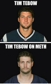Memes, Tim Tebow, and Time: TIM TEBOW  TIM TEBOW ON METH Still one of the GREATEST memes of AL-TIME! https://t.co/sA17ZYDuzz