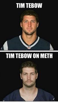 Still the best Jay Cutler meme of all-time: TIM TEBOW  TIM TEBOW ON METH Still the best Jay Cutler meme of all-time