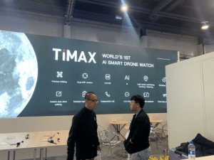 How to buzzword: TIMAX  WORLD'S 1ST  Al SMART DRONE WATCH  AI  HD  Precise folding  Dual APP control  HD720P  Light stream positioning  Al  Brushless  hovering / following  Extra long en  dia playback  Live chat  Independent call  Modular bati  Instant real-time  editing  АД How to buzzword