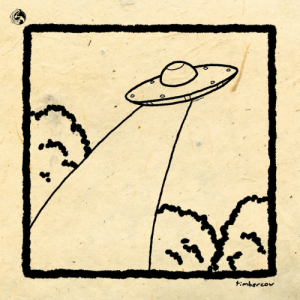 Target, Tumblr, and Blog: timbercow:  Some ufo line art.