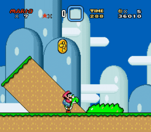 Bad, Head, and Love: TIME  28-8  3601 O hexcolour:  suppermariobroth: In Super Mario World, Banzai Bills will not harm Mario as long as he is riding Yoshi and his head is below the vertical center of the Banzai Bill. (Footage recorded by me from a SNES emulator.) me facing my problems head on and discovering they weren't as bad or terrifying as i thought they were because i had the love and support of a friend