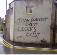 Time, Clocks, and Exist: TIME DOESNT  CLOCKS  I EXIST