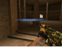 Was playing a lame CSGO knock-off when an unexpected catastrophe happened: Time Has Ended! Was playing a lame CSGO knock-off when an unexpected catastrophe happened