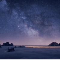 Time Lapse Shooting Stars in the Dolomites: Time Lapse Shooting Stars in the Dolomites