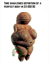 Exceptional Bodies , Definitely, And Memes: TIME MAGAZINES DEFINITION OF A PERFECT BODY  IN 23