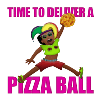 Dank, 🤖, and Ball: TIME TO DELULERA  PITA BALL Let your friends know it's time. http://bit.ly/AdultSwimKB