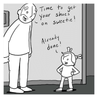 Memes, Link, and Time: Time to get  Your Snoes  on sweetie  Air  lread  o ne New comic on Webtoons about being big. Link to full comic in profile!