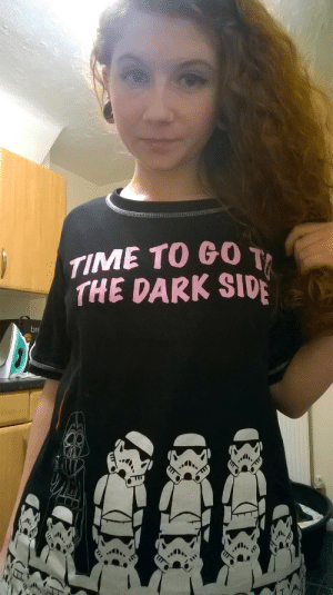 elven-spirit-crusher:  New pyjamas!By the looks of my eye bags I need to go to the dark side and never return. : TIME TO GO T  THE DARK SIDE  bre elven-spirit-crusher:  New pyjamas!By the looks of my eye bags I need to go to the dark side and never return.