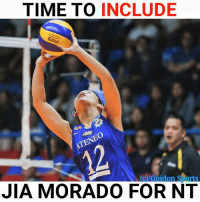 Abay dapat lang.  Photo Credits to: GUIDON Sports: TIME TO INCLUDE  (c) Guidon Sports  JIA MORADO FOR NT Abay dapat lang.  Photo Credits to: GUIDON Sports