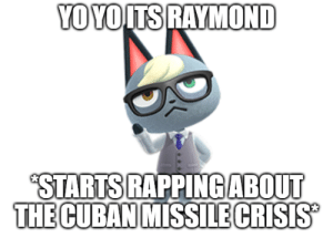 Time to talk about the mission crisis caw caw: Time to talk about the mission crisis caw caw