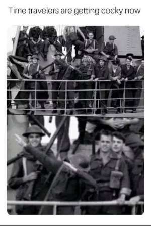 *dab in 1932*: Time travelers are getting cocky now *dab in 1932*
