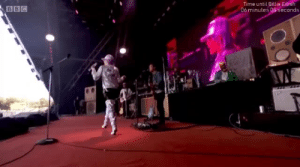 theshitneyspears:  MILEY CYRUS AS ASHLEY O AT GLASTONBURY…WE STAN: Time until Billie Eilish  06 minutes 08 seconds  BBC theshitneyspears:  MILEY CYRUS AS ASHLEY O AT GLASTONBURY…WE STAN