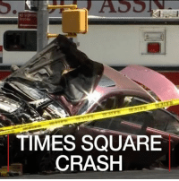 Driving, Drunk, and Friday: TIMES SQUARE  CRASH 19 MAY: A man who drove a car along three blocks of pavement in New York's Times Square, killing a teenager and injuring 22 people, said he had 'heard voices', according to law enforcement sources. 18-year-old Alyssa Elsman was killed and her 13-year-old sister was also hit and injured. The driver, Richard Rojas is a 26-year-old US navy veteran, he was arrested twice previously for drunk driving and is now in custody. Mr Rojas has been charged with second-degree murder, aggravated vehicular homicide and multiple counts of attempted murder. He is expected to appear in court later on Friday. Readmore: bbc.in-timessquare TimesSquare TimesSquareCrash NewYork USA BBCShorts BBCNews @bbcnews