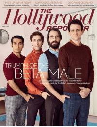 growing pains: TIME'S UP: WHAT NOW | AGING IDOL RETURNS | OSCAR RECKONING  Growing pains in the push for equality Disney's gamble and the Ryan Seacrest saga Parties, gossip and (oyD plunging ratings  THE  Hollijivoad  Ollyu  March 7, 2018  1  2  From left  Zach Woods  n Los Angees  TRIUMPH OFTH  BNTA MALE  Valley's tortured tech bros take on 2018's 'darker  e and star T.J. Miller's messy exit: 'He wasn't LeBron