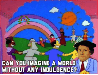 Martin, Memes, and World: TIMM  CAN YOUIMAGINE A WORLD  WITHOUT ANY INDULGENCE Martin The uterus. -REBUS