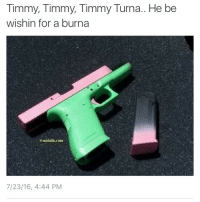 <p>He know that his soul in the furnace (via /r/BlackPeopleTwitter)</p>: Timmy, Timmy, Timmy Turna.. He be  wishin for a burna  7/23/16, 4:44 PM <p>He know that his soul in the furnace (via /r/BlackPeopleTwitter)</p>