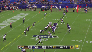 Quick toss from @lj_era8 to Willie Snead for the @Ravens TD! #JAXvsBAL https://t.co/syDrjKX2gG: TIMOO  PLA LIKE A  F VEN  NS  VD&  06  1:23 1ST  2nd & 6  3  WBALTV Quick toss from @lj_era8 to Willie Snead for the @Ravens TD! #JAXvsBAL https://t.co/syDrjKX2gG