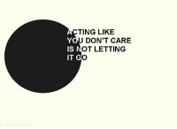 Ting, Lik, and  Care: TING LIK!E  OU DON'T CARE  IS  OT LETTING  IT GC
