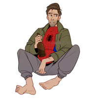 Tumblr, Blog, and Http: @Tinvmintywol tinymintywolf:ive had art block for the last couple of weeks but spiderverse helped me push through it :')